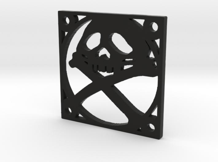 "Fan Grille 30x30mm ""Pyrat"" 3d printed"
