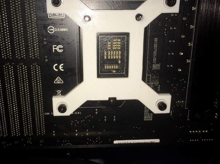 CPU-Backplate for Intel Socket 1151 3d printed