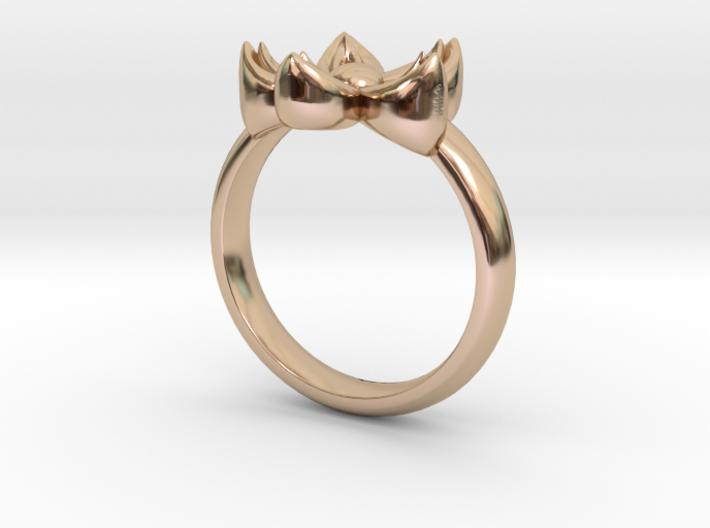 Kanzashi Ring 3d printed