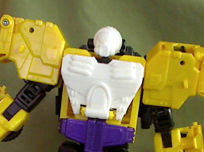 Strika Chest For CW Onslaught 3d printed test print from my 3d printer. Head sold separately.