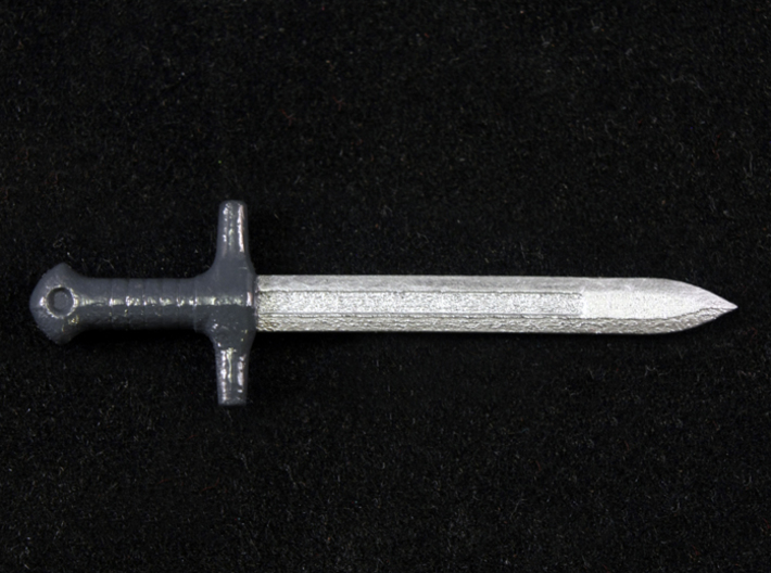 Ordon Sword 3d printed Painted Frosted Ultra Detail