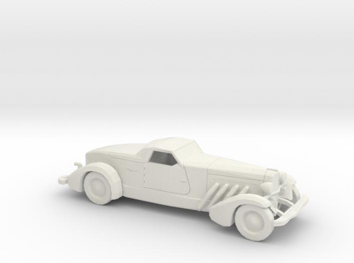 1/72 1935 Duesenberg Style Boattail 3d printed