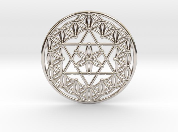 Flower Of Life - Merkaba 3d printed