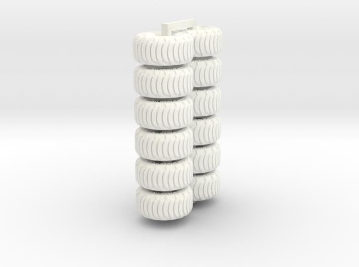 1-64 Tire Galaxy 725-65-26 Set1 3d printed