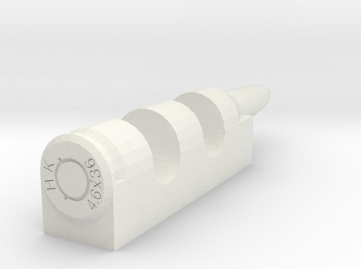 4.6x36mm cartridge-style chopsticks rest 3d printed