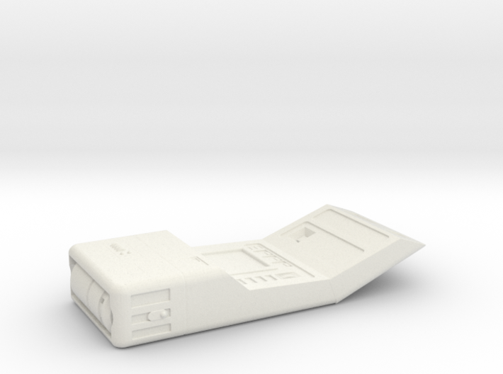 Medical Tricorder, Open (ST Next Generation), 1/6 3d printed