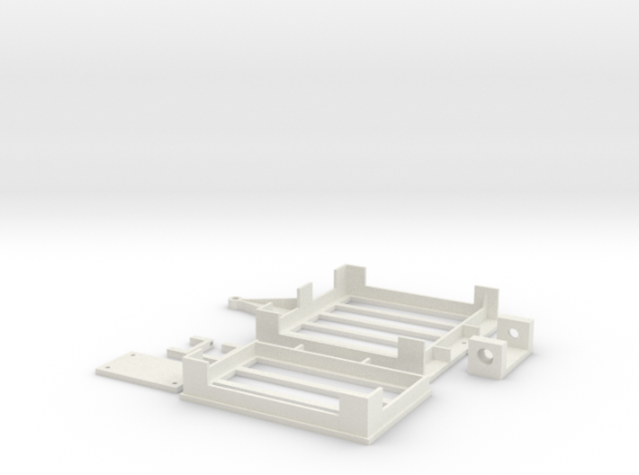 Mini-z Trailer V2 3d printed