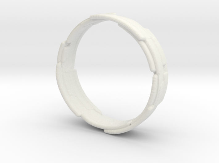 The Wrecking Crew Ring Size 8 3d printed