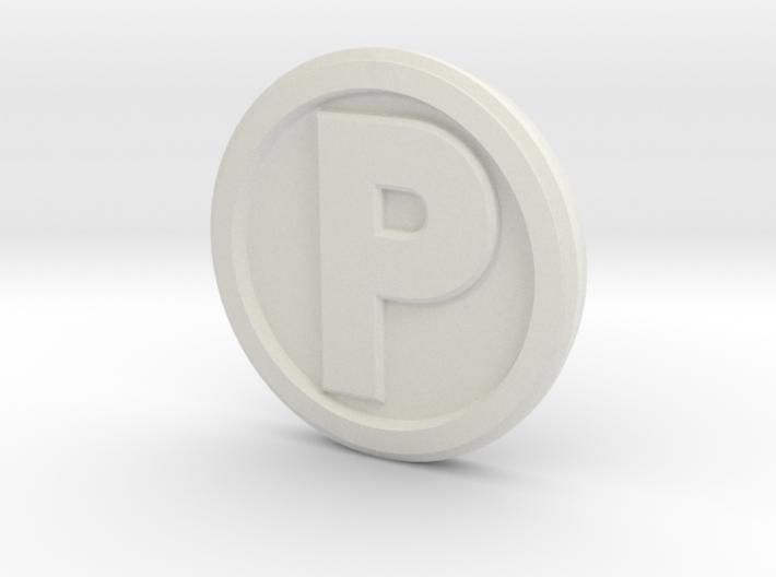 Printle Base (Round Med) 1 cm 3d printed