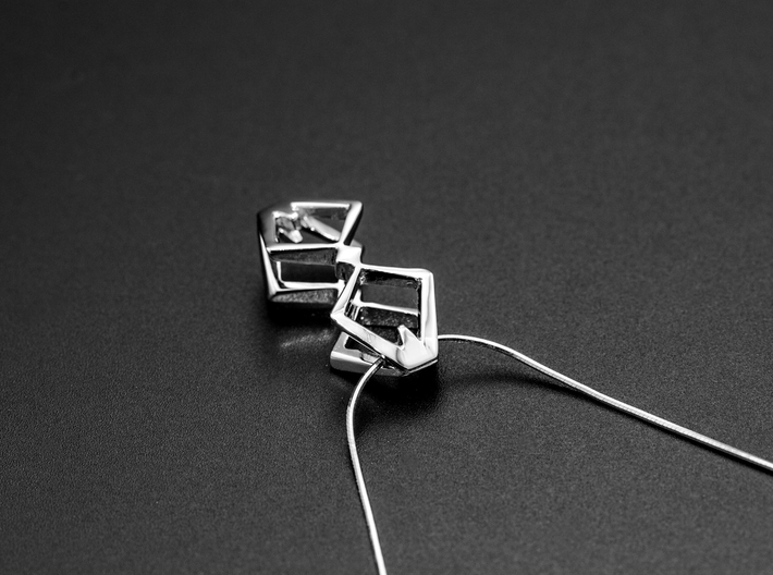 HEAD TO HEAD Duo, Pendant  3d printed