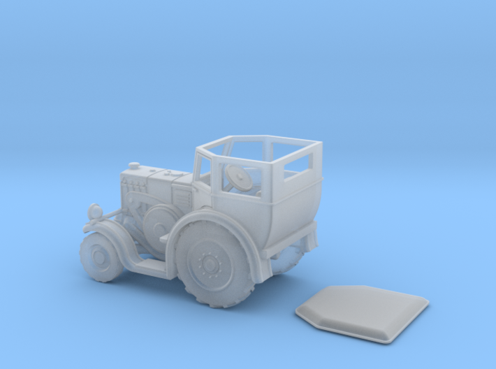 Lanz Bulldog HR7 / D8539 in 1:87 3d printed