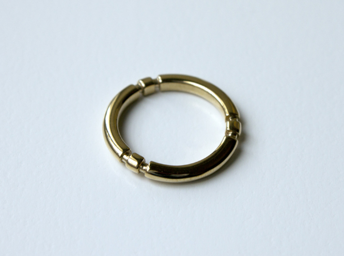 Orion - Precious Metals And Plastics 3d printed Polished Brass
