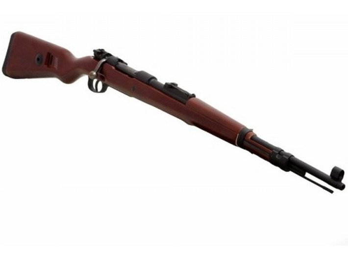 1/10 scale Mauser Karabiner K-98k Kurz rifles x 3 3d printed
