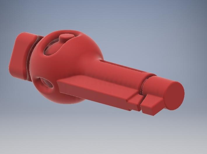 6mm locker - 21mm - Nylon  3d printed Unlocked