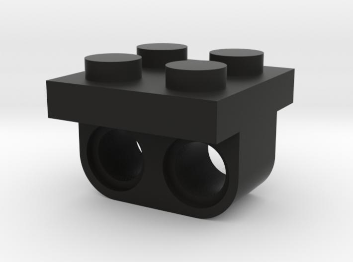 2 Beam To 2x2 Brick 3d printed