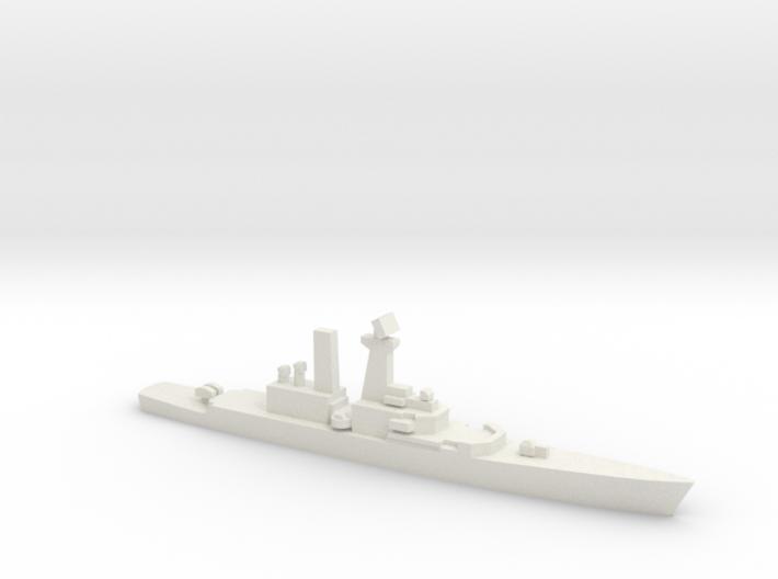 USS Truxtun (CGN-35), 1/3000 3d printed