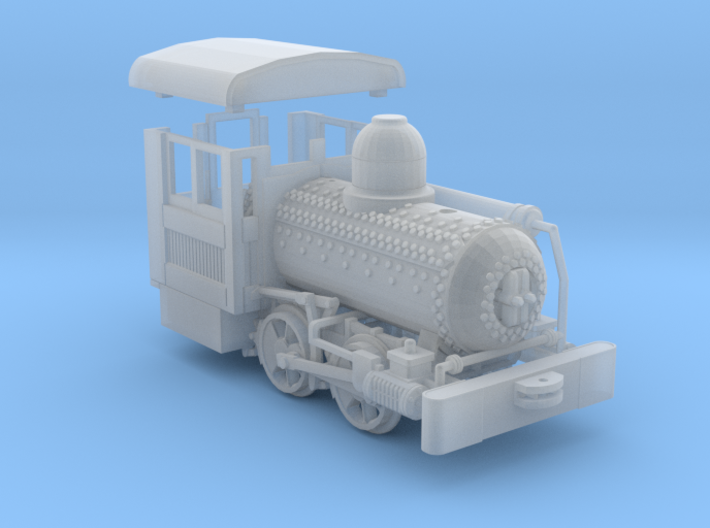 "HO Scale - 40.5"" Gauge Compressed Air Porter 0-4-0 3d printed"