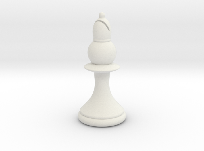 Pawns with Hats - Bishop 3d printed