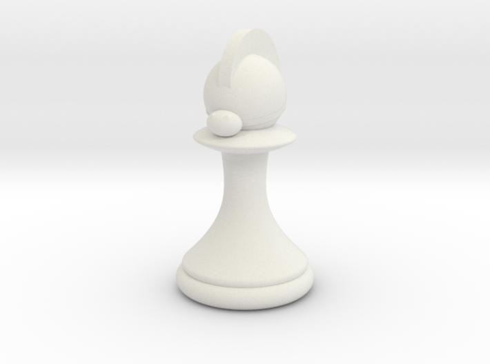 Pawns with Hats - Knight 3d printed