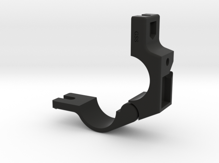 24.5mm Handlebar Clamp for many Cree / MagicShine 3d printed
