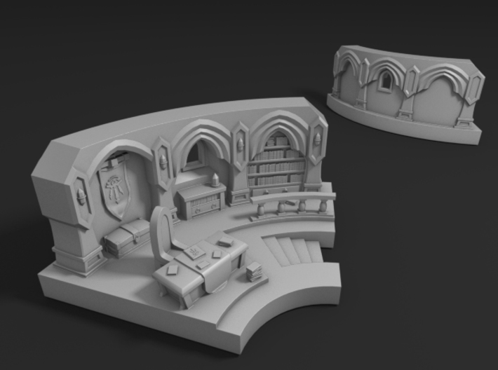 Mage Tower 3d printed