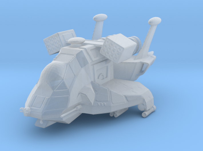 Raptor, Combat (Battlestar Galactica) 1/200 3d printed