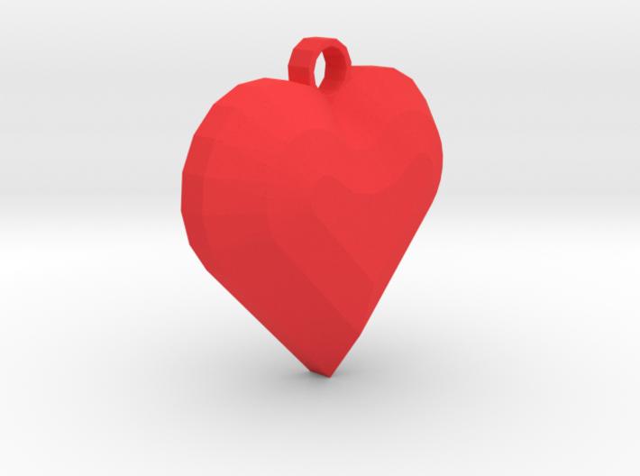 My Heart Pendant 3d printed