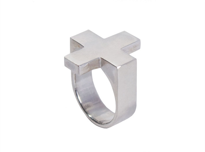 Plus Ring   3d printed
