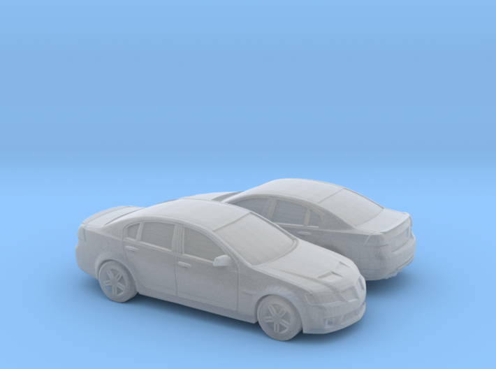 1/160 2X 2007-09 Pontiac G8 Sedan 3d printed