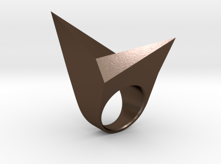 Lowpoly Ring 3d printed