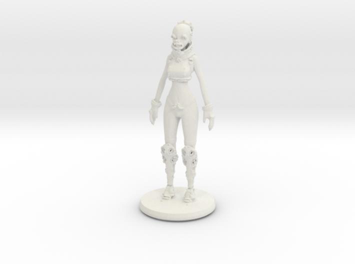 Printle C Woman Robot 1/24 3d printed