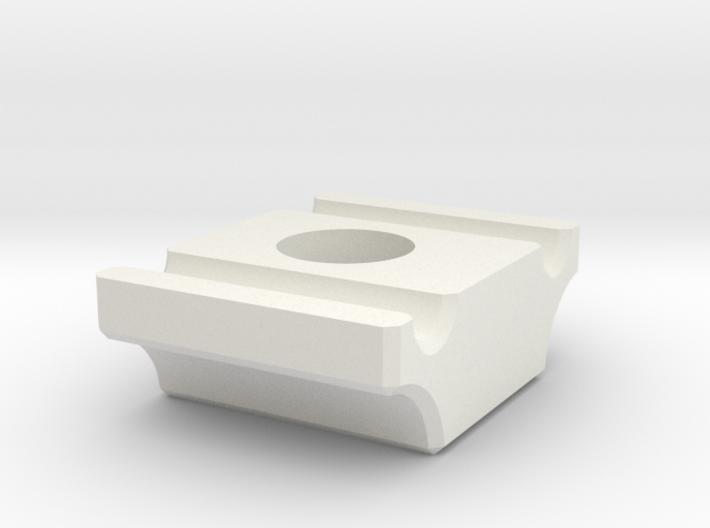 PatchFiberClampBottom 3d printed