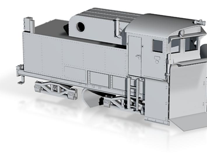 "Modell Klima Schneepflug Bauart ""Linz"" Spur N 3d printed"