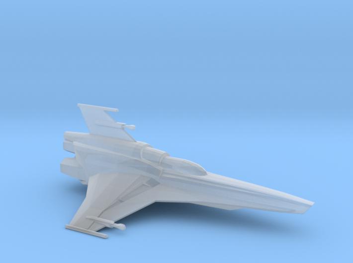 Viper Mk VII (Battlestar Galactica), 1/200 3d printed
