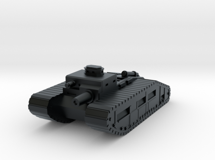 Infantry Support Tank 3d printed