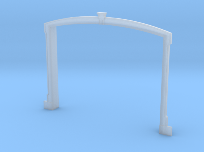 HO WCK Station Breezway Surround 3d printed