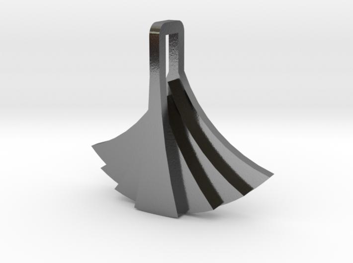 Bird Pendant - One 3d printed