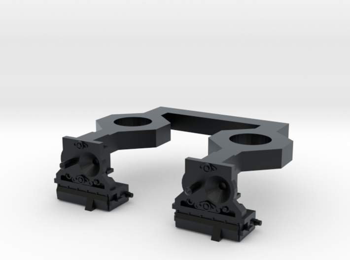HO N2A Coupler (Dummy) for Commuter MU cars 3d printed
