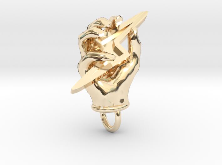 Hand of Zeus 3d printed