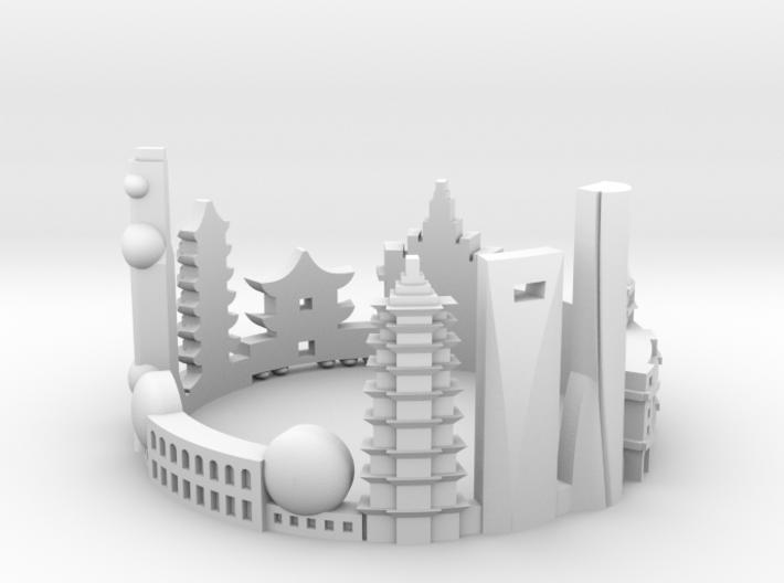 Shanghai 8,5 3d printed