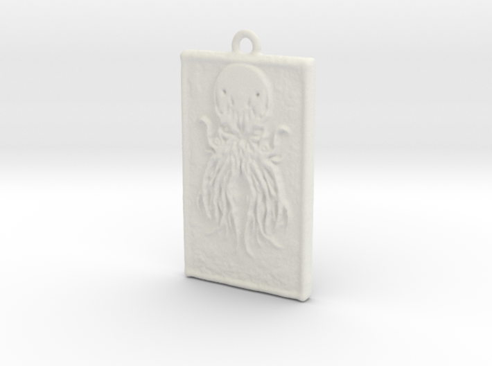 Pendant Cthulhu 3d printed
