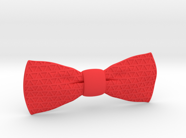 The Tri Bow Tie 3d printed