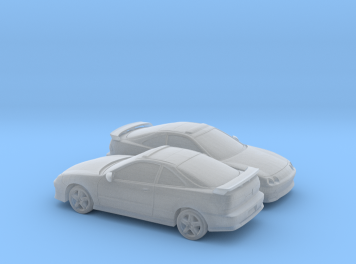 1/160 2X 1996 Acura Integra Type R 3d printed