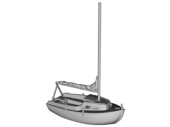 HObat02 - Small boat 3d printed