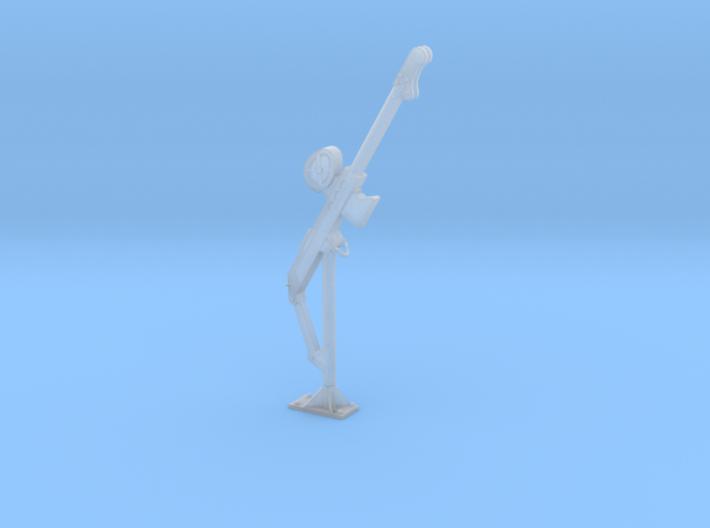 Fixed davit crane fall 01. 1:24 3d printed