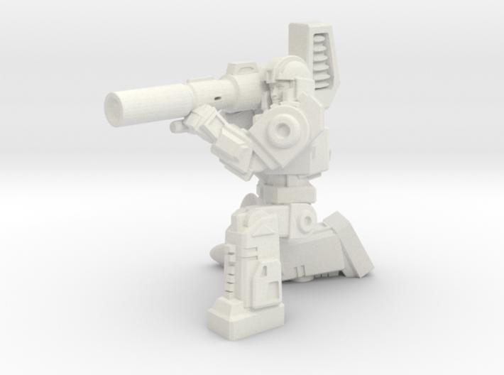Diaclone Missle Trooper, 35mm Mini 3d printed