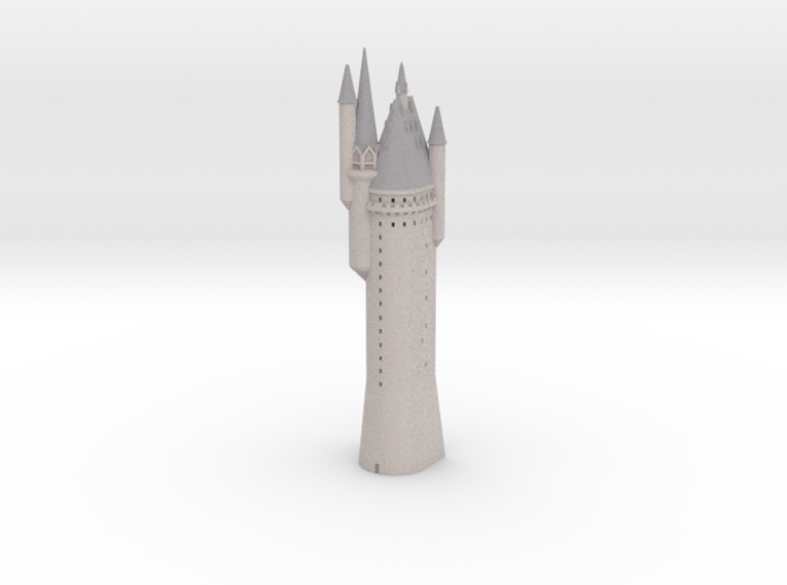 1/720 Hogwarts - Astronomy Tower 3d printed