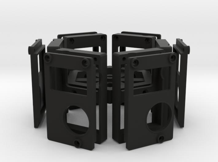 6-Camera Rig 3d printed