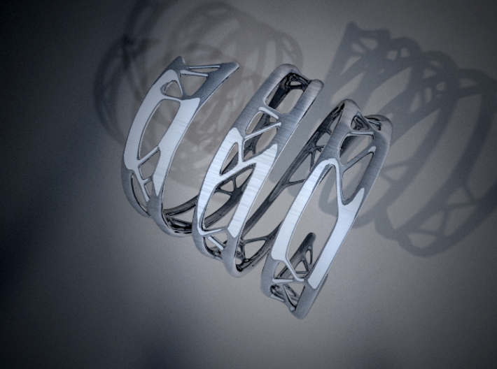 The Organic Bracelet 3d printed Casting Shadow