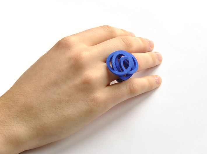 Ring Love is in the Air Medium (from $16) 3d printed Can you explain me ring